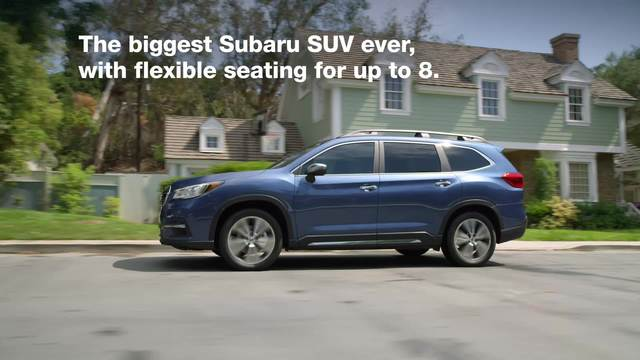 2019 Subaru Ascent Broll