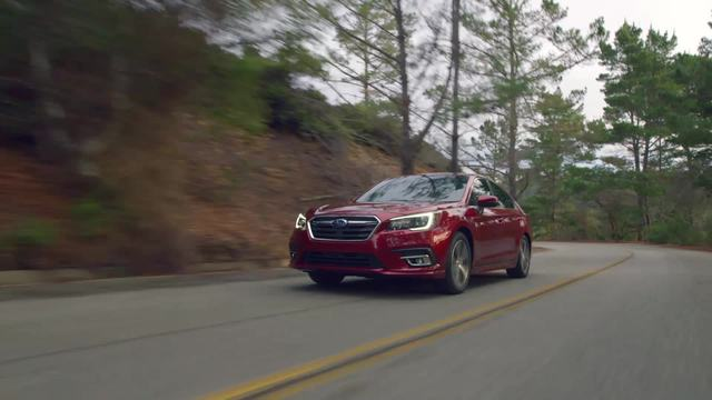 2018 SUBARU LEGACY- RUNNING FOOTAGE - NON-SNOW.mp4