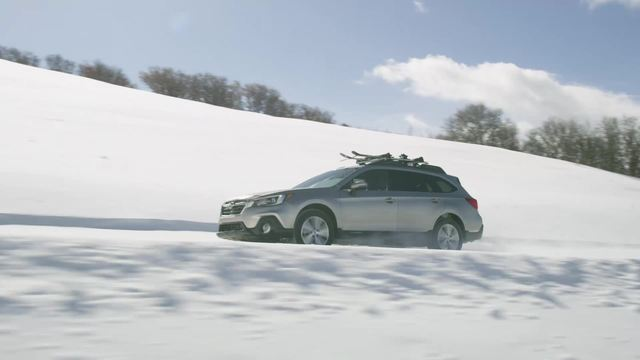 2018 SUBARU OUTBACK- RUNNING FOOTAGE- IN SNOW.mp4