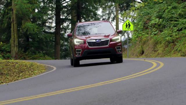 2019 Forester Driving Footage With Supers