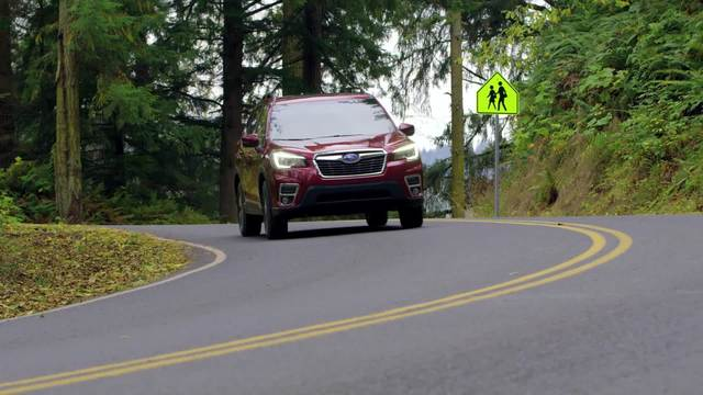 2019 Forester Driving Footage Without Supers