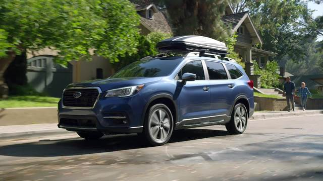 2020 Subaru Ascent Touring and Limited- Running Footage