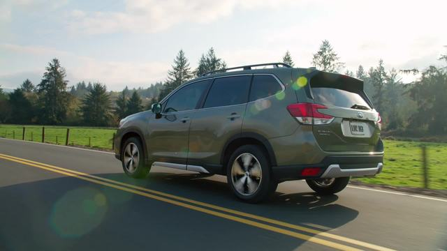 2020 Subaru Forester Touring- Running Footage