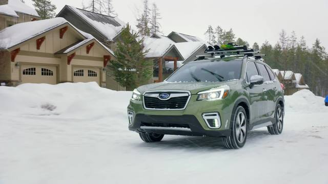 2020 Subaru Forester Touring- Running Footage- Snow