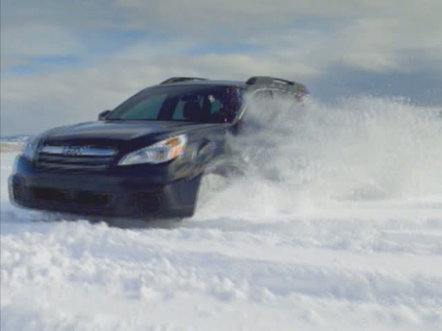 2013 Outback 2.5i on snow