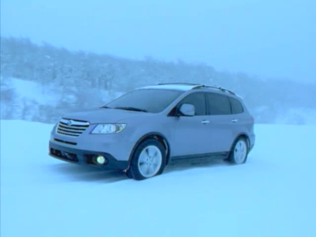 2013 Tribeca 3.6R Limited on snow