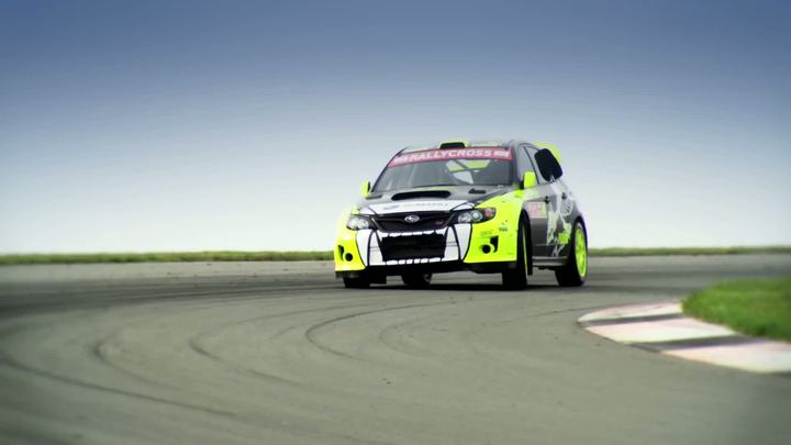Subaru PUMA Rallycross Team Launch