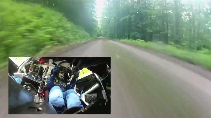 High-speed ride with Subaru Rally Team USA's David Higgins