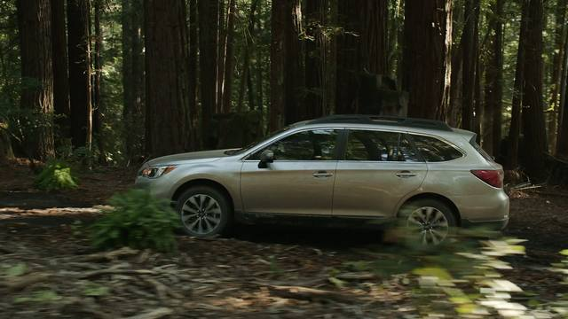 2015 Subaru Outback Running Footage