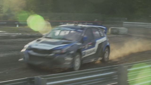 Victory for Subaru Rally Team USA Sverre Isachsen at Red Bull  Global Rallycross Seattle