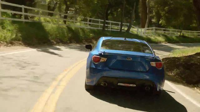 2014 Subaru BRZ Limited - WR Blue Pearl