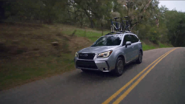 2017 Forester - Running Footage