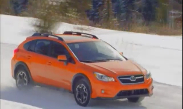 2013 Crosstrek 2.0i Premium on snow