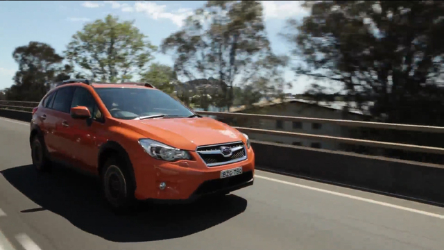 The all-new 2013 Subaru Crosstrek